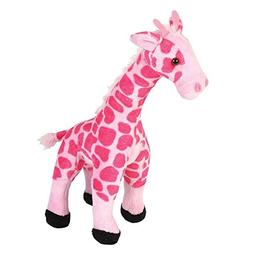 Smooth Pink Giraffe Stuffed Animal  by Adventure Planet