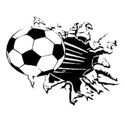 Sonline Soccer Ball Football vinyl Wall Sticker Decal Kids R
