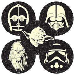 Star Wars Halloween Glow in the Dark Stickers - Prizes and G