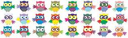 StickerTalk 1in x 1in 24X Small Owls owl Vinyl Stickers Deca