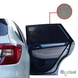 UNIVERSAL FIT CAR SIDE WINDOW SUN SHADES -Protect Your Babie