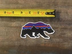 365a1700f Patagonia Bear Fitz Roy Stickers/Decal V...