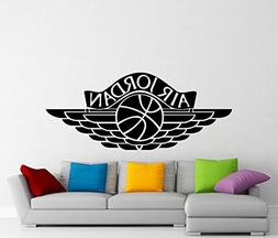 Air Jordan Wall Decal Sports Basketball Logo Vinyl Sticker S