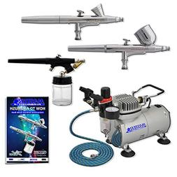 Airbrush System Painting Crafts Automotive Cars Fashion Deca