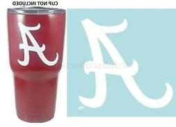 "Alabama Crimson Tide 3"" Premium Die-Cut Vinyl Decal Sticker"