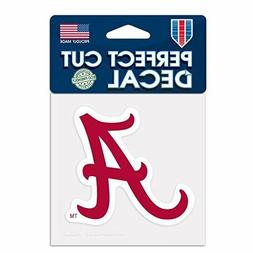 Alabama Crimson Tide 4x4 Perfect Cut Decal Sticker Car Truck