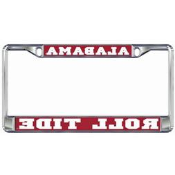 Alabama Crimson Tide Domed Metal License Plate Frame