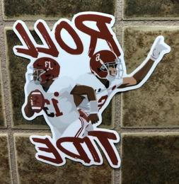 Alabama Crimson Tide Football Roll Tide Decal Sticker Car Tr