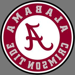 Alabama Crimson Tide NCAA Football Vinyl Sticker Car Truck W