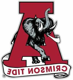 Alabama Crimson Tide Retro Vinyl Decal Sticker Yeti Laptop C