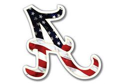 "Alabama Crimson Tide USA 3.5"" Premium Die-Cut Vinyl Decal fo"