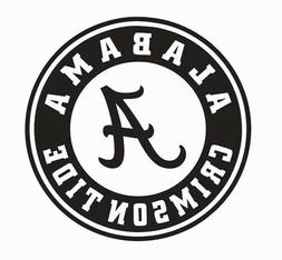 Alabama Crimson Tide Vinyl Die Cut Car Decal Sticker - FREE