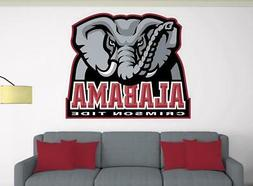 ALABAMA CRIMSON TIDE Wall Decal ~ Car / Truck Vinyl STICKER