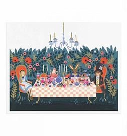 Alice in Wonderland Tea Party Art Print by Rifle Paper Co.