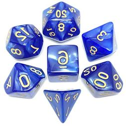 Assorted Sided Die D4 D6 D8 D10 D12 D20 for MTG RPG D&D DnD