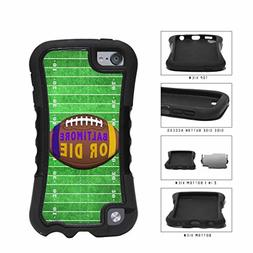 Baltimore or Die Football Field 2-Piece Dual Layer Phone Cas