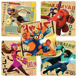 Big Hero 6 Stickers - Birthday Party Supplies and Favors - 1