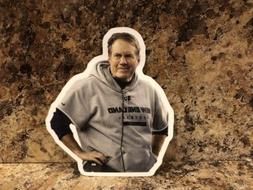 Bill Belichick New England Patriots Logo Car Sticker NFL Dec
