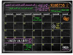 Bigtime Black Dry Erase Monthly Planner Wall Calendar Decal