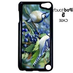 Bluebirds Blue Jay bird nature Apple iPod Touch 5 PLASTIC Ca