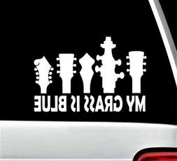 Bluegrass Music Guitar Bass Banjo Mandolin Decal Sticker for