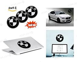 BMW Logo Stickers Decal - Set of 3 Decals - High Resolution,