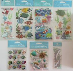 Jolee's Boutique Dimensional Stickers-Large Tropical Fish