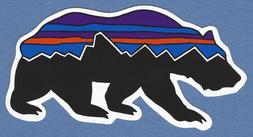 8ad0bf2c4aeb7 BRAND NEW PATAGONIA FITZ ROY BEAR STICKER DECAL 4