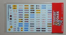 BUMPER STICKERS 1:24 1:25 GOFER RACING DECALS CAR MODEL ACCE