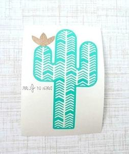 Cactus Vinyl Decal Sticker for Yeti Cup, Car Decal, Laptop,