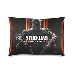 Call of Duty Black Ops III Pillowcase 20x30 two sides Zipper