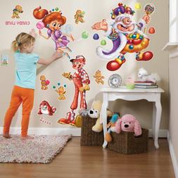 CandyLand Room Decor - Giant Wall Decals