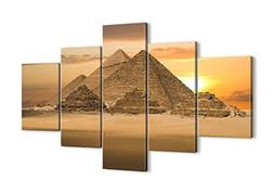 """Canvas Print Picture - 5 Piece - Total size: Width 39,4"""", He"""
