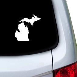 StickAny Car and Auto Decal Series Michigan MI Sticker for W