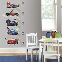 Cars 2 Peel and Stick Metric Growth Chart Wall Decal, Kids,