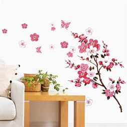 cherry blossom wall decal stickers