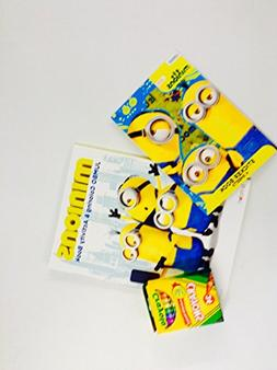 Minions Coloring and Activity Book Jumbo 64 Pages Filled wit