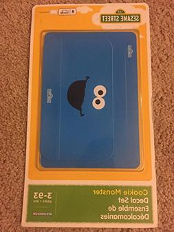 Cookie Monster Decal for Kindle 7