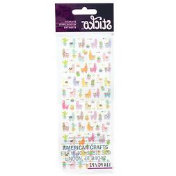 Craft Planner Tiny Stickers Sticko Llamas Cactus Banners Col