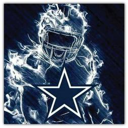 Dallas Cowboys NFL Player Car Bumper Sticker Decal - 3'' or