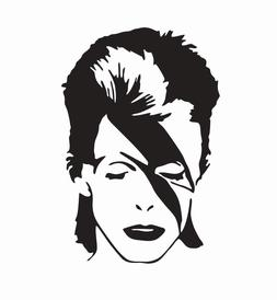 David Bowie Music Band Die Cut Car Decal Sticker - FREE SHIP