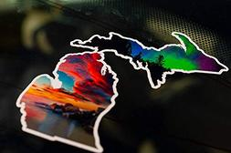 Michigan Effect Decal
