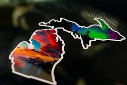 Michigan Effect Decal  New