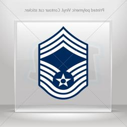 Decal Stickers Chief Master Sergeant Tablet Laptops Weatherp