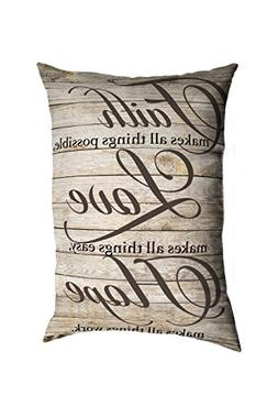 """Stratford Home 14""""x20"""" Decorative Religious Quotes & Sayings"""