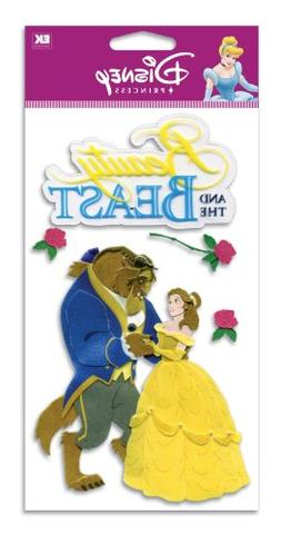 Disney Dimensional Stickers-Beauty & The Beast