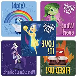 Disney Pixar Inside Out Movie stickers - Birthday Party Supp