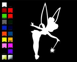 Disney Tinkerbell Sticker / Decal - Choose Color & Size - Pe