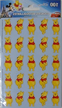 Disney Winnie The Pooh - 100 Stickers Included