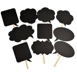 SDBING DIY Bubble Speech Chalk Board Wedding Party Photoboot
